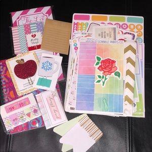 Planner sticker/accessories bundle